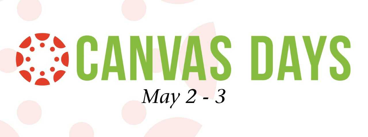 Canvas Days, May 2-3
