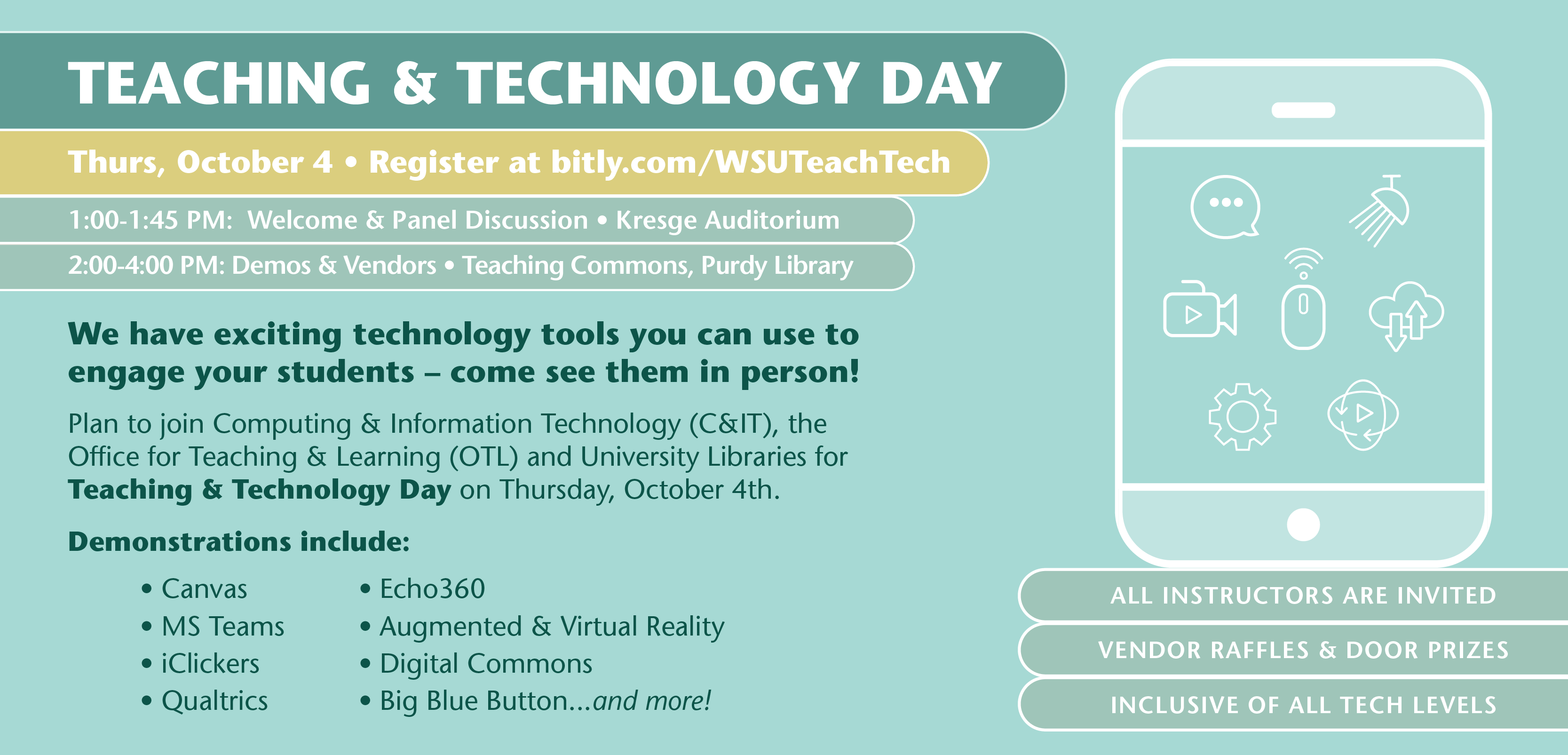 Wayne State Teaching & Technology Day 2018